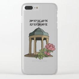 Tomb of Hafiz Clear iPhone Case