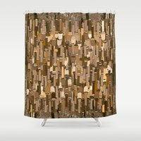 community Shower Curtains featuring Fortified Community by Tony M Luib