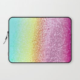 UNICORN GLITTER Laptop Sleeve