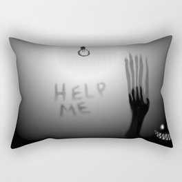 Lights Out Rectangular Pillow