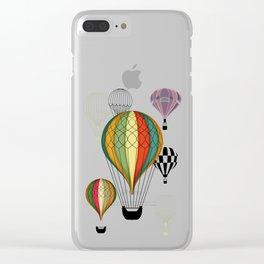 1er vuelo Aerostático en España Clear iPhone Case