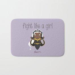 Fight Like a Girl 34 - Storm Bath Mat