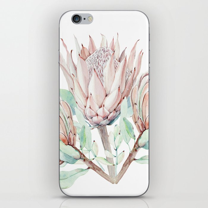Protea #society6 #buyart iPhone Skin