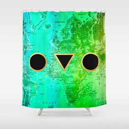 Shape your world Shower Curtain