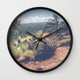 Wild Sedona Wall Clock