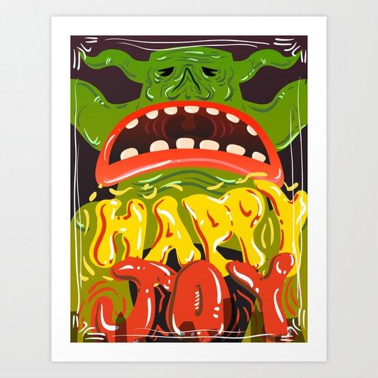 Happy Joy Art Print