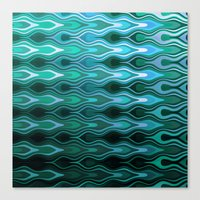 sail Canvas Prints featuring Sail by SensualPatterns