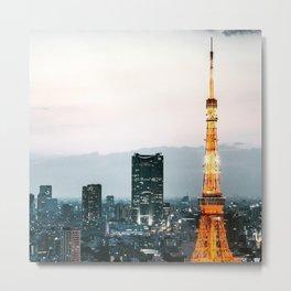 tokyo tower Metal Print
