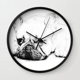 Mr Shy Wall Clock