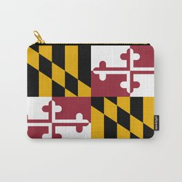Maryland State Flag, Hi Def image Carry-All Pouch