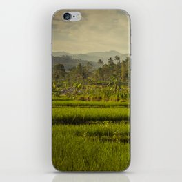 Balapusuh Village Rice Paddies iPhone Skin