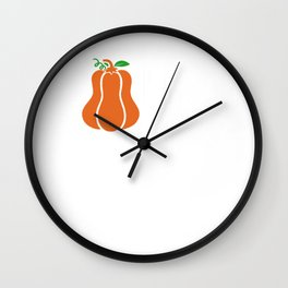 Oh My Gourd It's Fall Yall Wall Clock