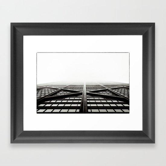Chicago - Hancock Framed Art Print