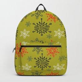 Christmas Snowflakes Pattern 1 Backpack