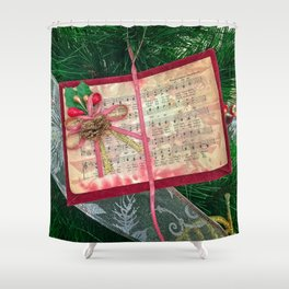 Hark the Herald Angels Shower Curtain