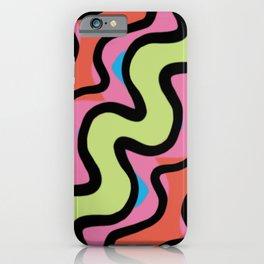 Supergraphic Squiggle iPhone Case