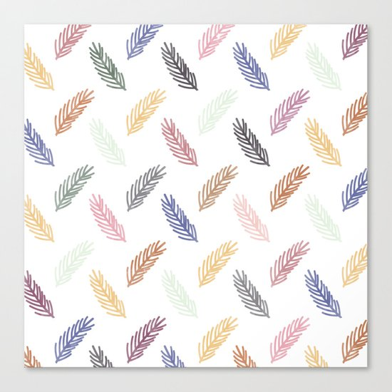Lovely Pattern C Canvas Print