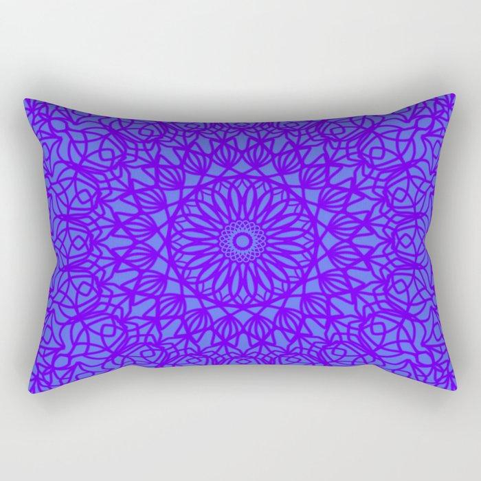 Lilac Lace Rectangular Pillow