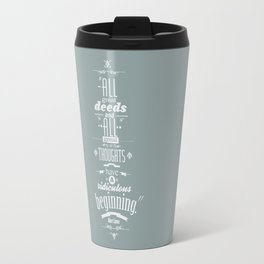 Albert Camus quotes Travel Mug