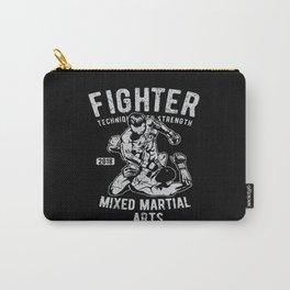 Fighter Mixed Martial Arts Bjj Jiu Jitsu Carry-All Pouch