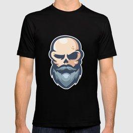 human face T-shirt