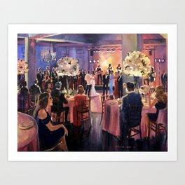 Fury Wedding NOLA Art Print
