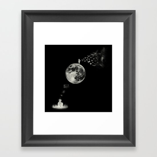 Never Lose Hope Framed Art Print