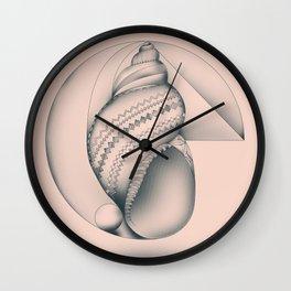 Mathematical Nurture Wall Clock