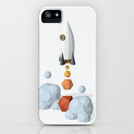 We have a lift off ! iPhone Case