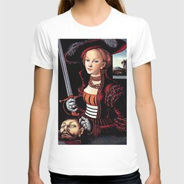 Judith with the Head of Holofernes T-shirt