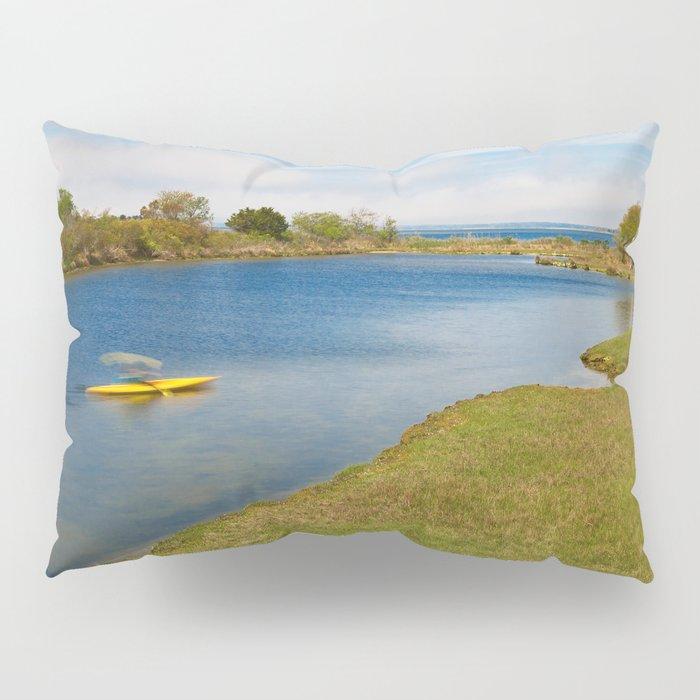 Assateague Island Marsh Pillow Sham