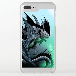 Strange beast: Battyrna Clear iPhone Case