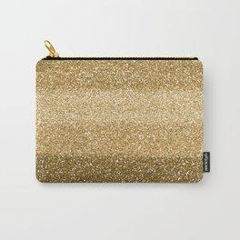 Glitter Glittery Copper Bronze Gold Carry-All Pouch