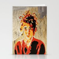 dylan Stationery Cards featuring Dylan by Ben Brush
