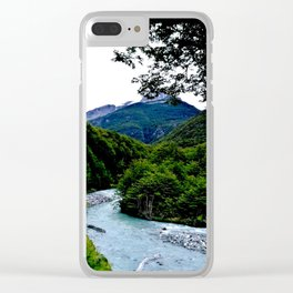 Torres del Paine Clear iPhone Case
