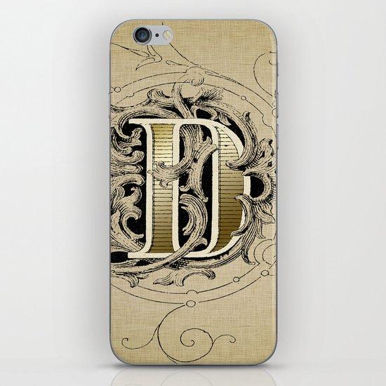 monogram d iPhone & iPod Skin