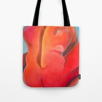 nudes Tote Bags featuring Nudes: Atlas by Adam James David Anderson