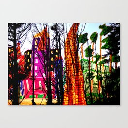 Beyond the Forest - A Dream Canvas Print