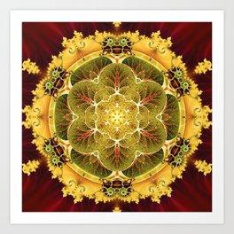 Mandalas for Times of Transition 8 Art Print