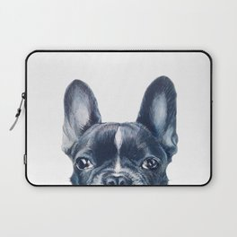 French Bull dog Dog illustration original painting print Laptop Sleeve
