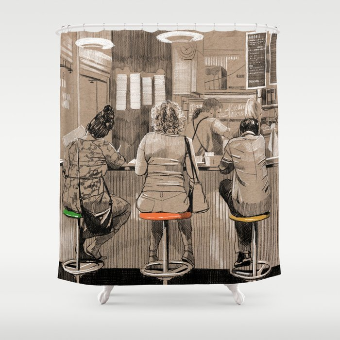 Daily life Shower Curtain