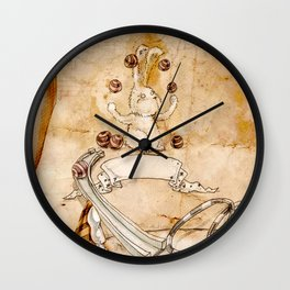 HEAD HUNTING- VIII Wall Clock