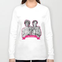 jessica lange Long Sleeve T-shirts featuring Jessica Lange and Meryl Streep by BeeJL