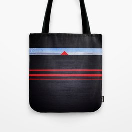 The Light of the Triangle Tote Bag