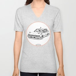 Crazy Car Art 0213 Unisex V-Neck