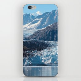 Deep Blue Glacier iPhone Skin
