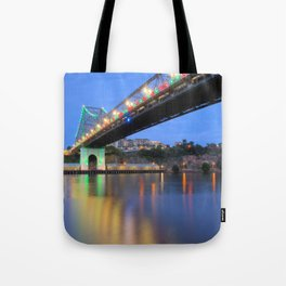 Christmas Bridge Tote Bag