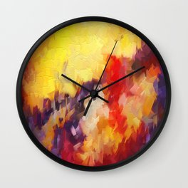 Abstract Impressions of an Abstract Wall Clock