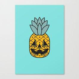 Pineapple Lantern Canvas Print