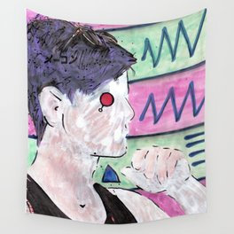Milk Android Justin Consults Schrödinger's Love Triangle Wall Tapestry